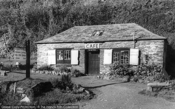 Boscastle, The Old Forge c.1960