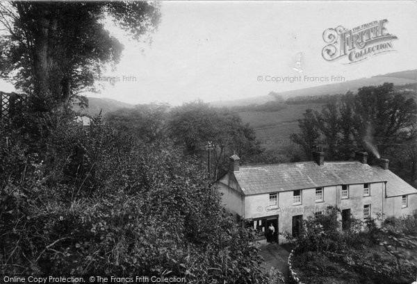 Boscastle, The Post Office 1923