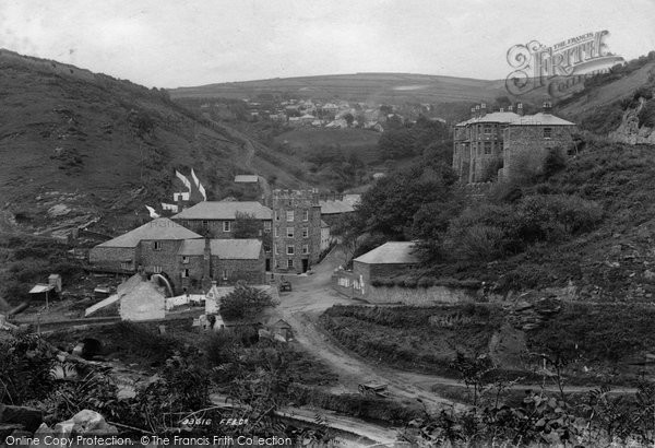 Boscastle, The Village 1894