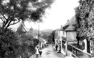 Boscastle, The Village 1906