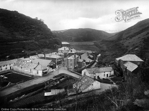 Boscastle, The Village 1923
