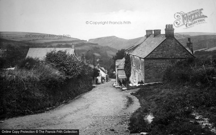 Boscastle, The Village 1923