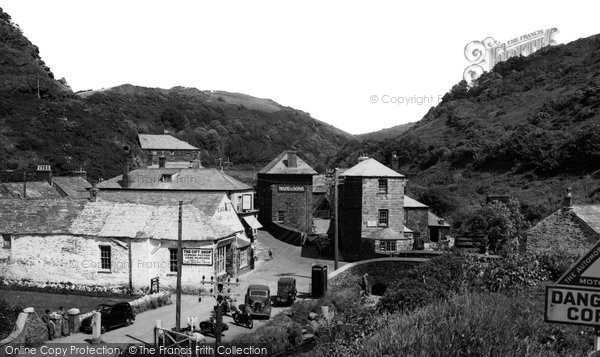 Boscastle, The Village c.1950