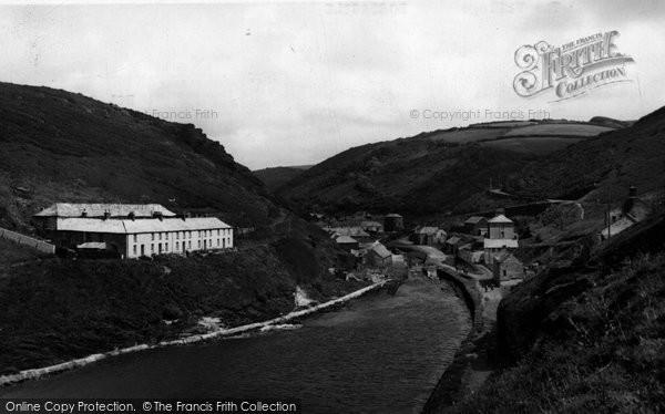 Boscastle, The Village c.1955