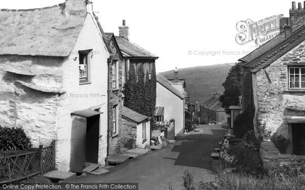 Boscastle, The Village c.1960
