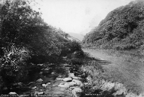 Boscastle, Valency Valley 1895