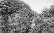 Boscastle, Vallency Valley 1906