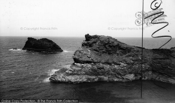 Boscastle, Victoria Rock  c.1960