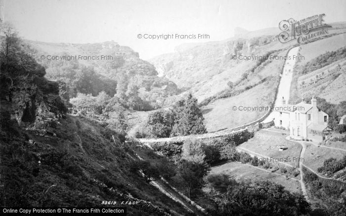Boscastle, View Down Rocky Valley 1894