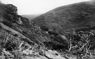 Boscastle, View Up Rocky Valley 1894