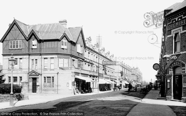 Boscombe, Christchurch Road 1892
