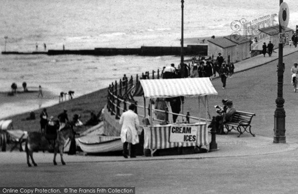 Boscombe, Ice Cream Seller 1922