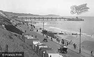 Boscombe, Promenade And Pier 1922