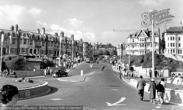 Photo of Boscombe, Sea Road c1960