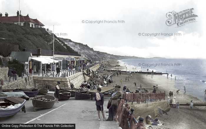 Boscombe, The Beach 1922