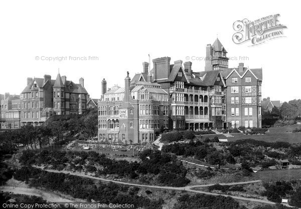 Boscombe, The Chine Hotel 1892
