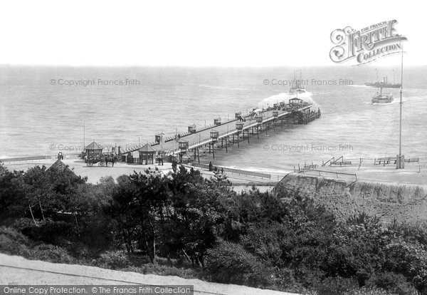 Boscombe, The Pier 1903