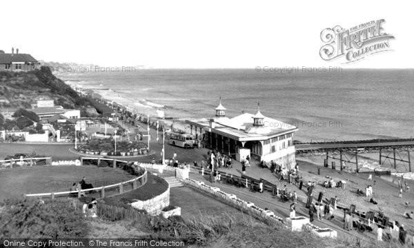 Boscombe, The Pier c.1955