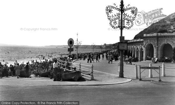 Boscombe, The Promenade c.1955