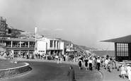 Boscombe, The Promenade c.1960