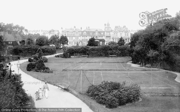 Boscombe, The Tennis Courts 1903