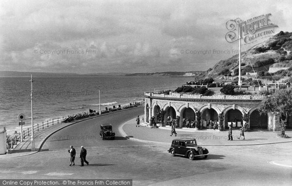 Boscombe, Undercliffe Drive c.1950
