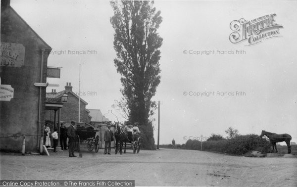 Bosham, A Sunday Drink At The White Swan c.1900