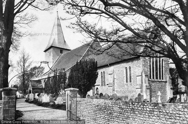 Bosham, Holy Trinity Church 1903