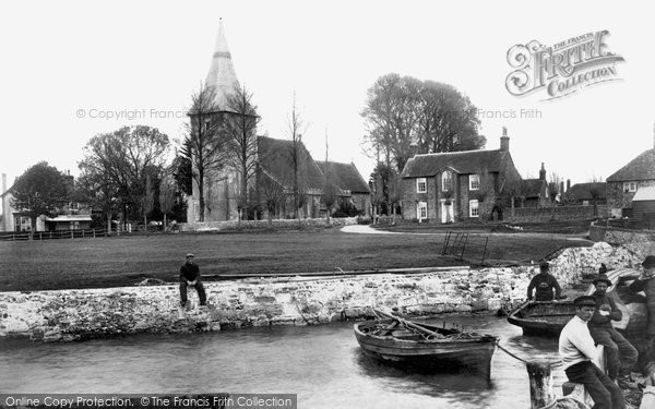 Bosham, Holy Trinity Church And The Green 1903