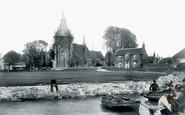 Bosham, Holy Trinity Church And The Green 1903