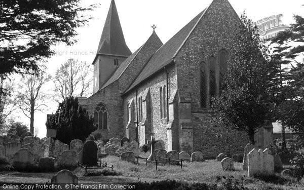 Bosham, Holy Trinity Church c.1960