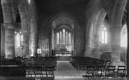 Bosham, Holy Trinity Church Interior 1902
