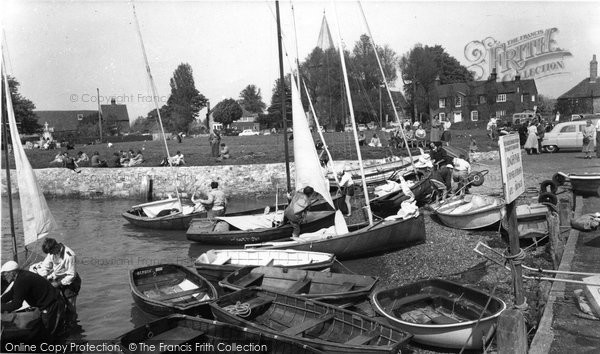 Bosham, Shore And Meadow c.1960