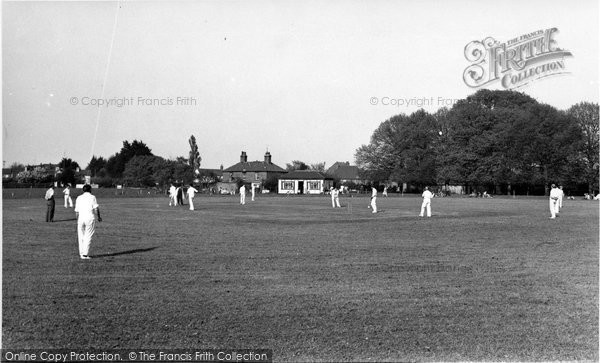 Bosham, The Cricket Field c.1960