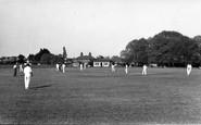 Bosham, The Cricket Field c.1960