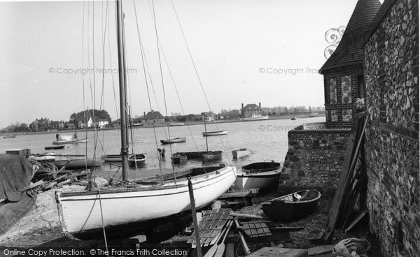 Bosham, The Harbour From The Trippett c.1960