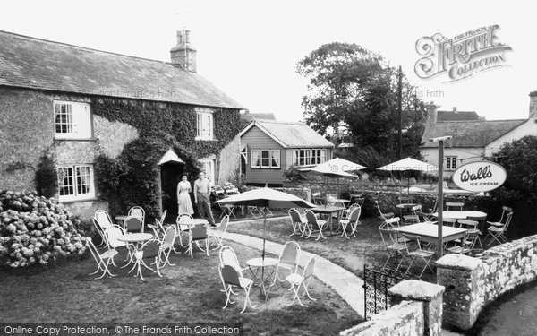 Photo of Bosherston, the Tea Gardens c1959