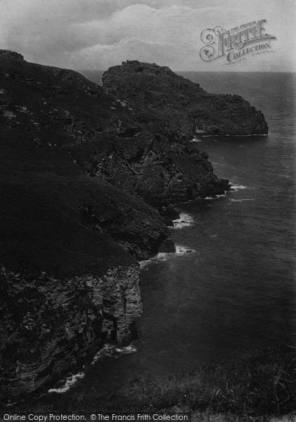 Bossiney, Cove And Lye Rock 1920