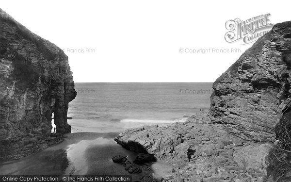 Bossiney, Elephant Rock 1894