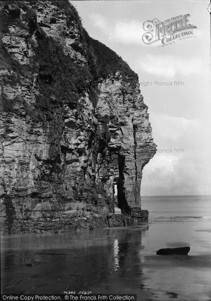 Bossiney, Elephant Rock 1895