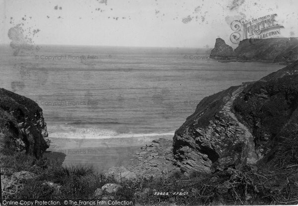 Bossiney, Rocky Valley Bay 1894