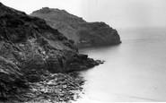 Bossiney, The Bay c.1955