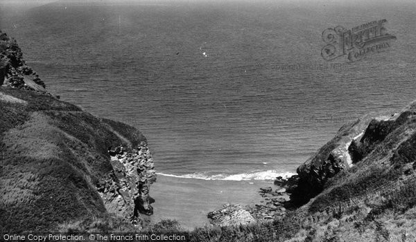 Bossiney, The Beach c.1955