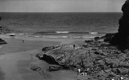Bossiney, The Beach c.1955