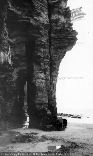 Bossiney, The Elephant Rock c.1955