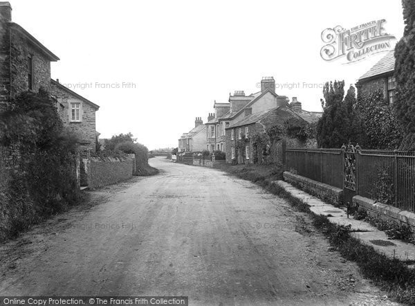 Bossiney, The Village 1920