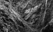Bossiney, The Waterfall c.1955