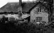 Bossington, A Thatched Cottage c.1935
