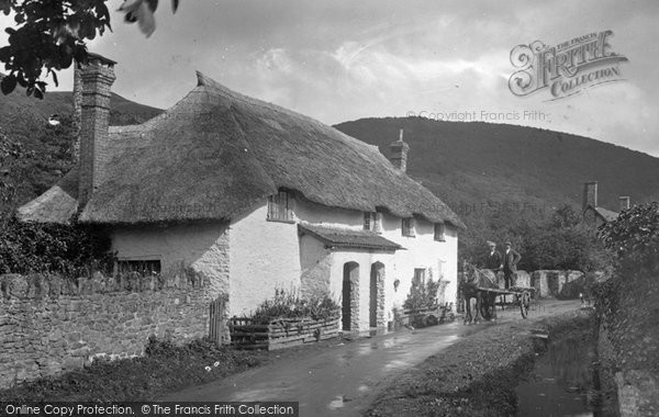 Bossington, Cottages In The Village 1931