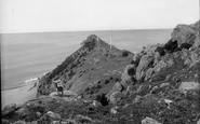 Bossington, Hurlstone Cliffs 1927